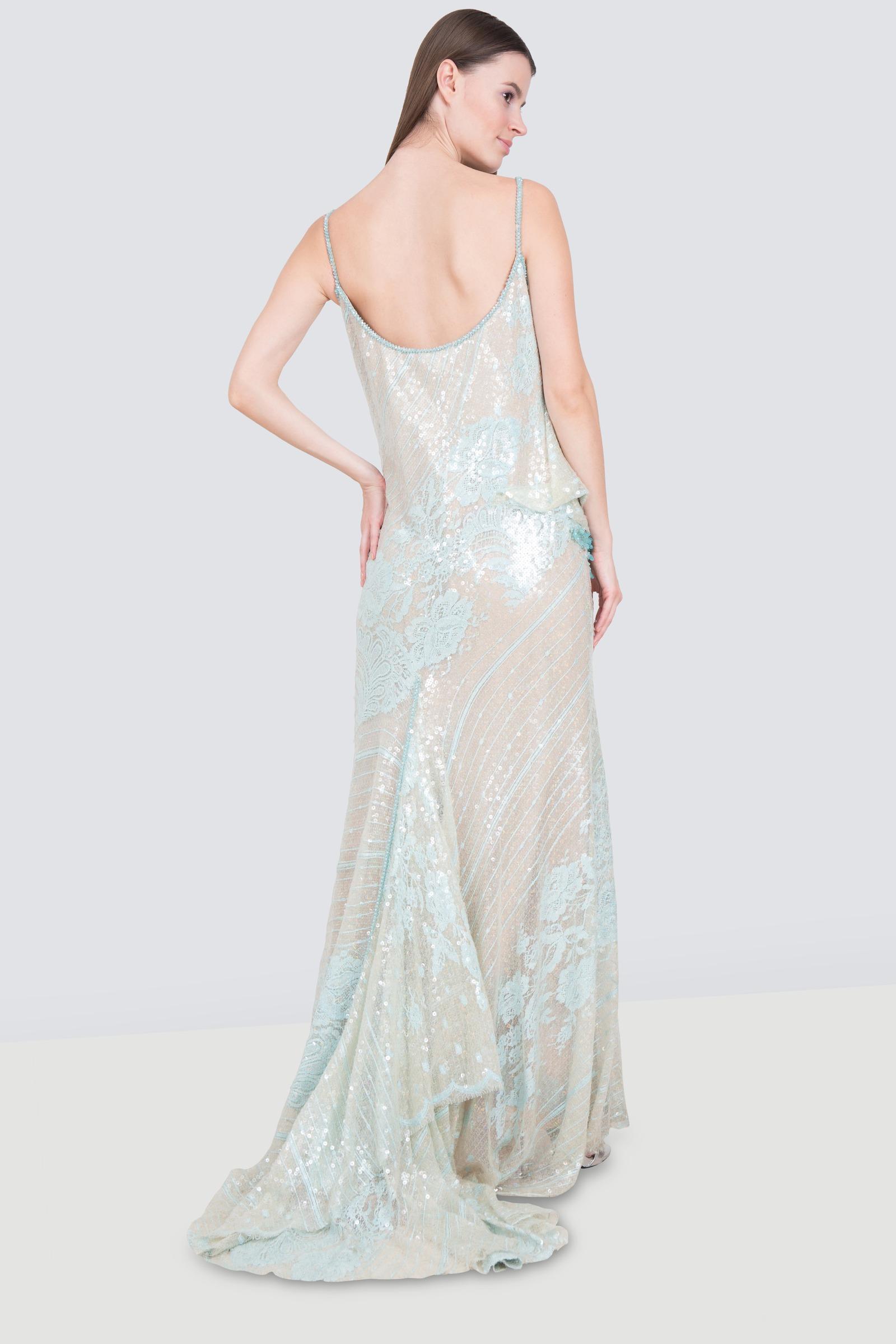 Rent ABED MAHFOUZ Sequined Sleeveless Dress In Dubai