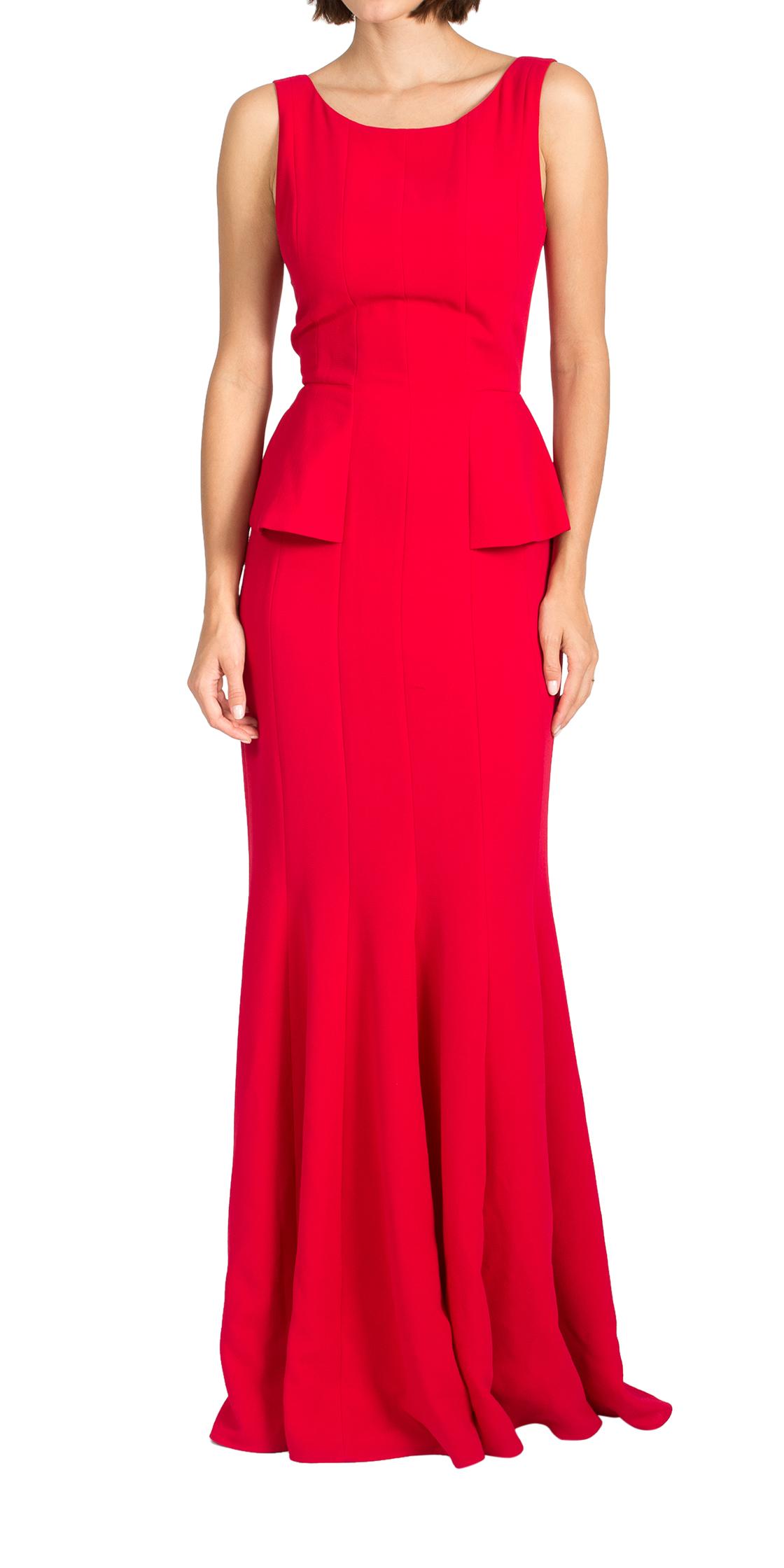 Rent BCBGMAXAZRIA Sleeveless Peplum Dress in Dubai - Designer 24