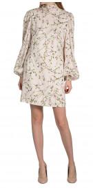 Alexander Mcqueen Long Sleeve High-Neck Dress