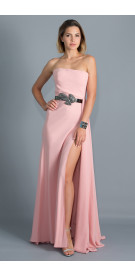 Maison Belted Gown