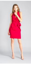 Lanvin Halter Mini Dress
