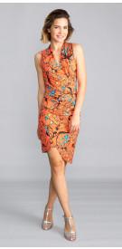 Nicole Miller Print Dress