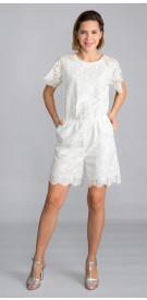 MAX&Co.Short Sleeve Lace Mini
