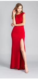 Jovani Jewel Embellished Backless Gown