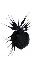 ABM Geometric Feather Hat