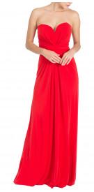 Issa Strapless Maxi Dress
