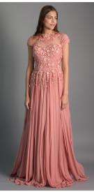 Maison Elegance Embellished Evening Dress