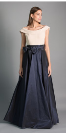 Maison Elegance Haute Couture Two-Tone A-Line Gown