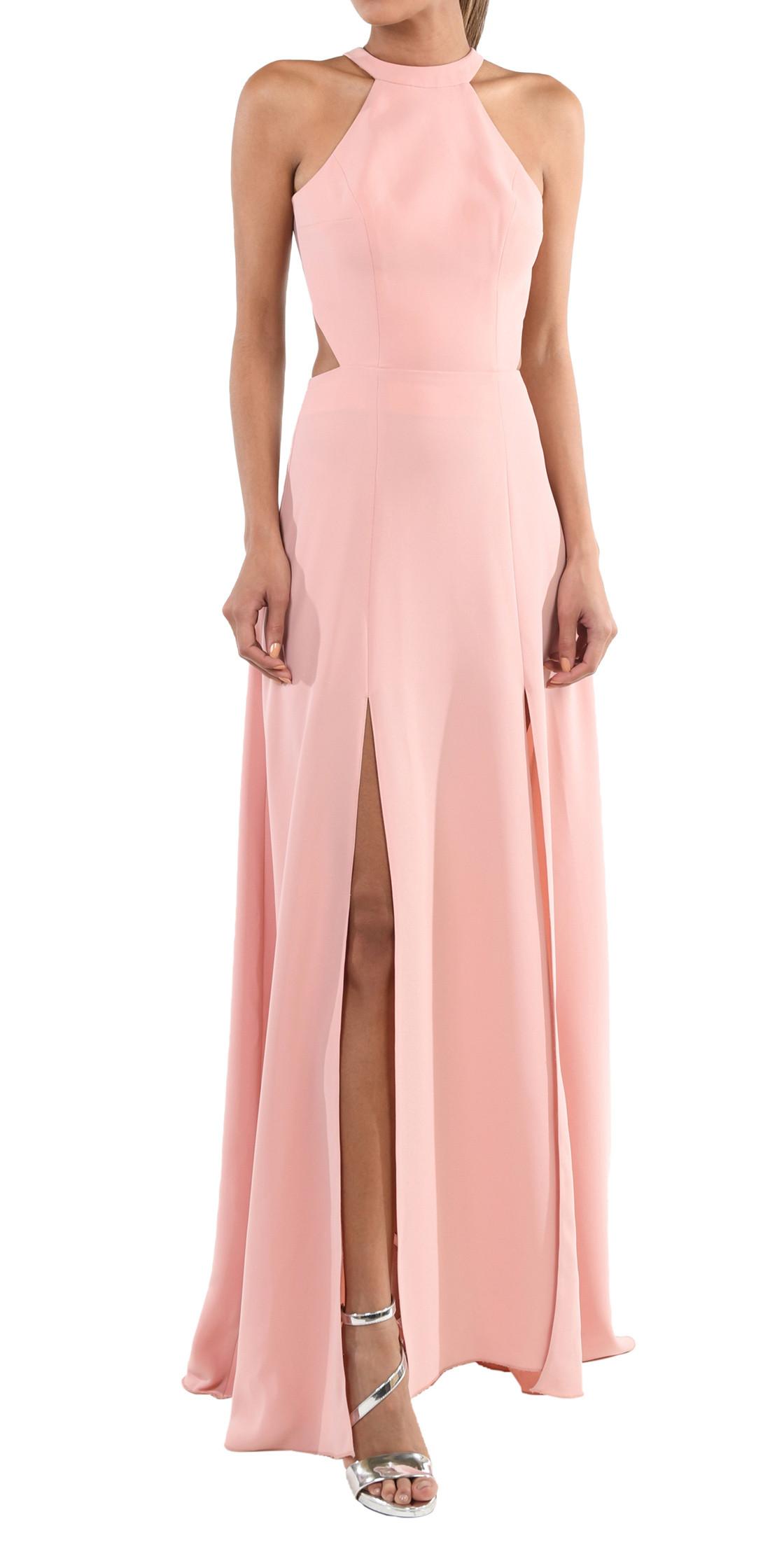 Romy Kanaan Backless Halter Gown | Designer Dress Rental | Lebanon ...