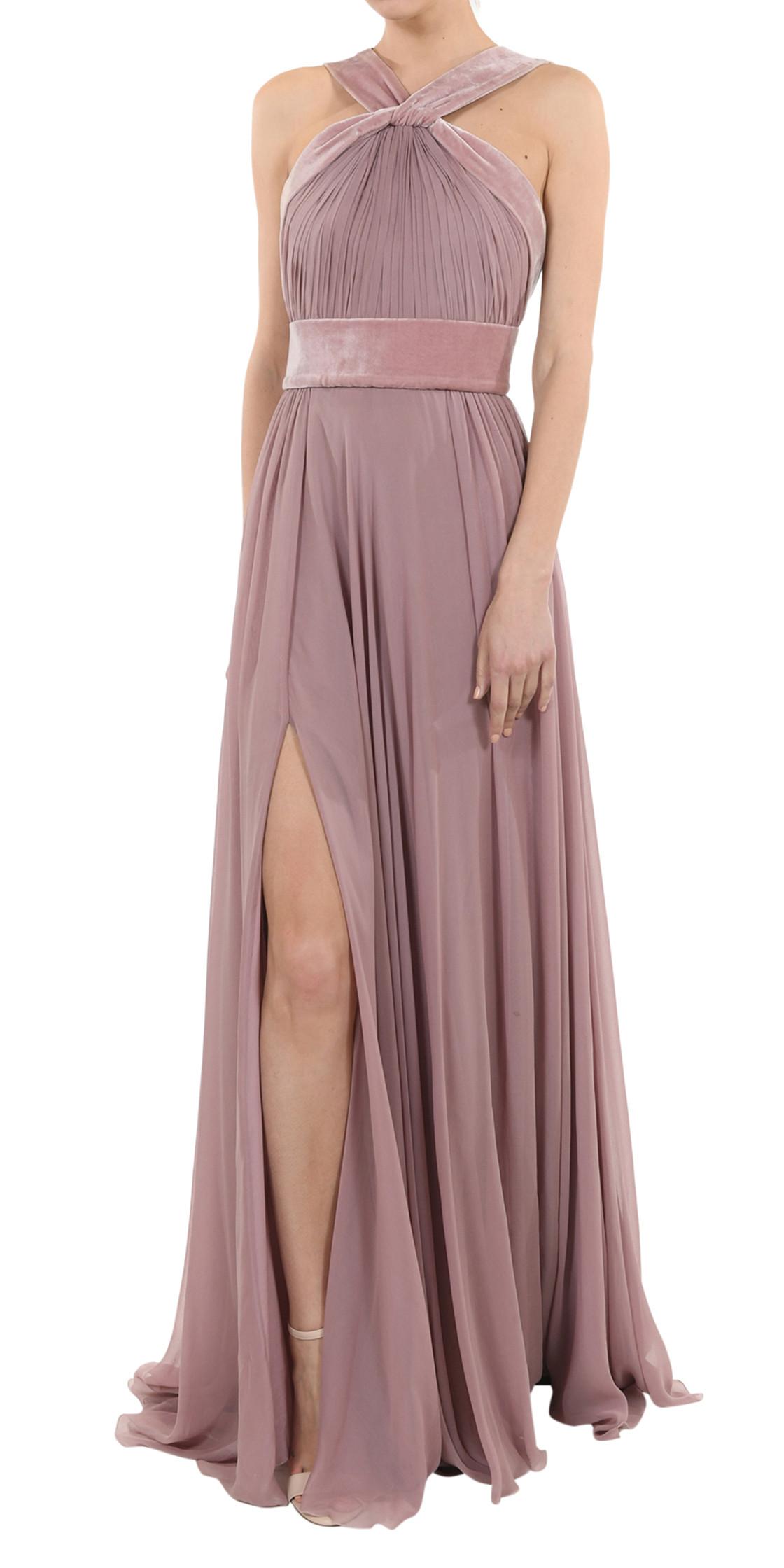 Elie Saab Halter Cady Gown | Evening Dress Rental | Lebanon Rent a ...