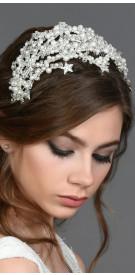 Centimes Bourgeois Stars & Pearls Headpiece