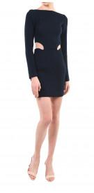 Romy Kanaan Cutout Tweed Mini