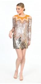 Elisabetta Franchi Sequin Gown