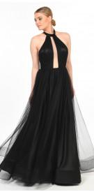 Custom Halter Gown