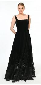Antoine El Kareh Velvet Gown