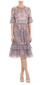 Needle & Thread Embellished Ruffled Dress