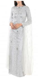 Rami Jneid Sequin Column Gown
