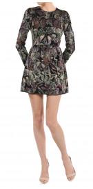 Valentino Long SleevesJacquard Dress