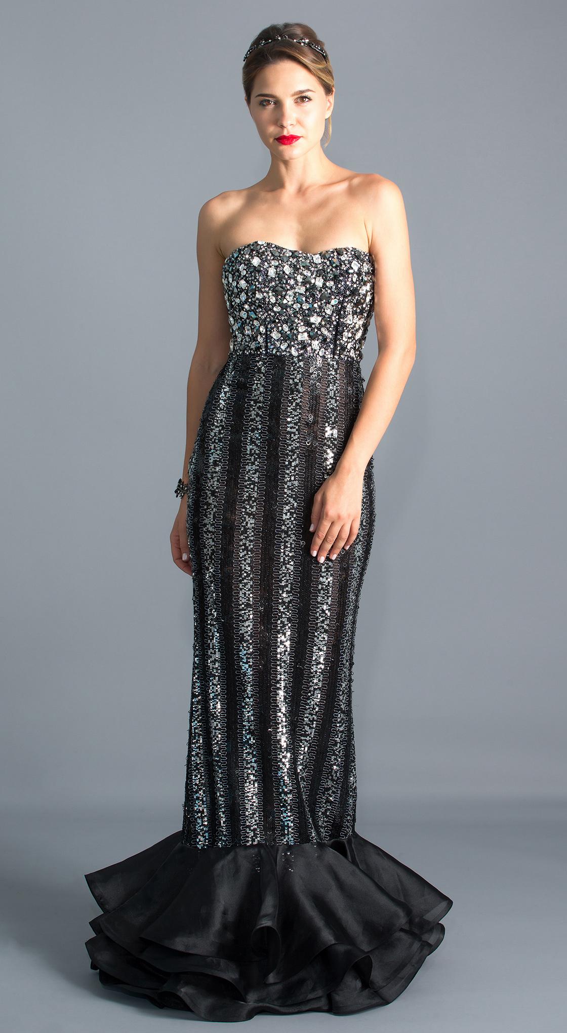 98e5e991456f Rent MAISON ELEGANCE HAUTE COUTURE Beaded Mermaid Gown in Dubai ...
