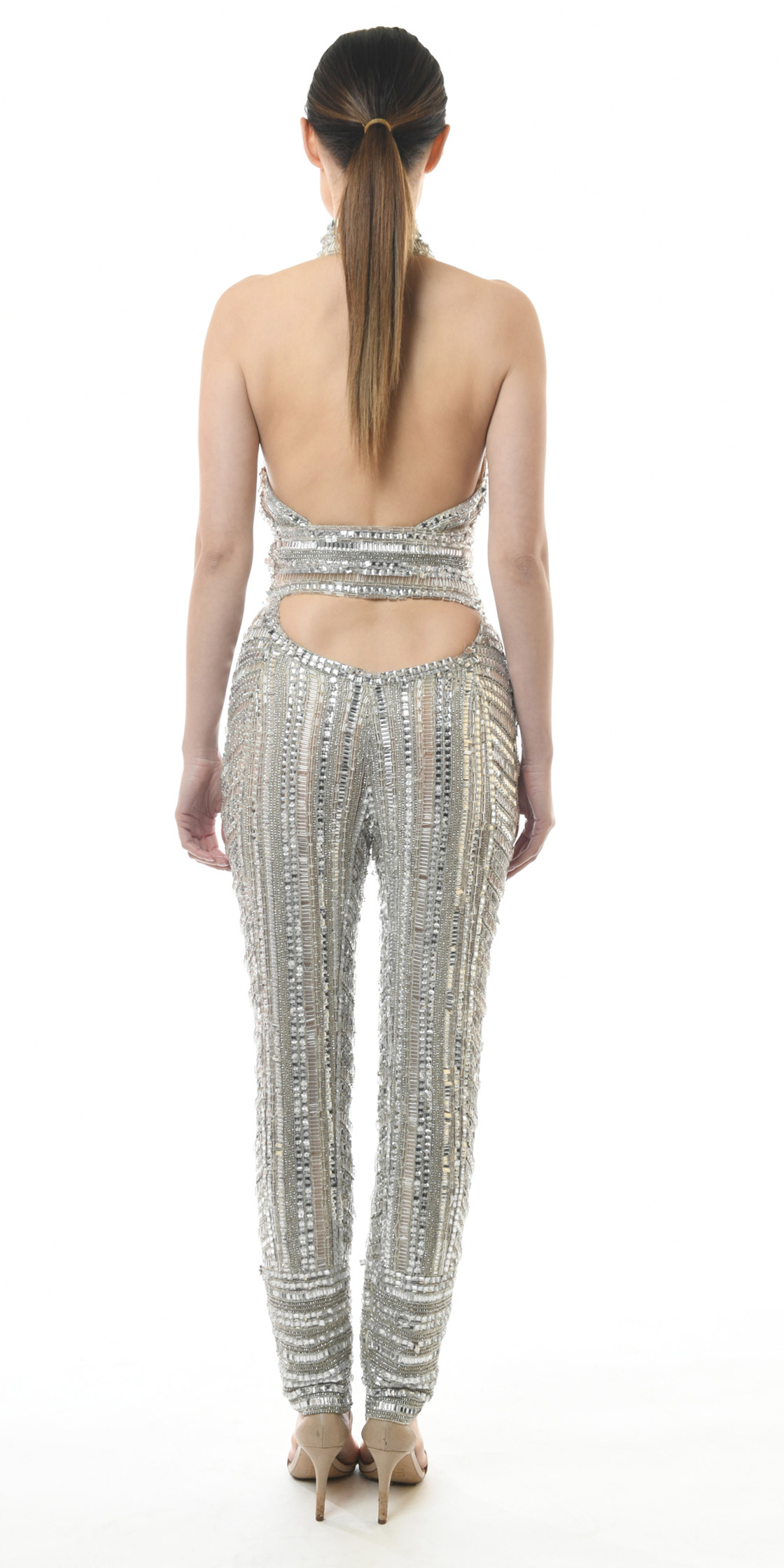 926525250ac Rent ZUHAIR MURAD Beaded Crystal Jumpsuit in Lebanon - Designer 24
