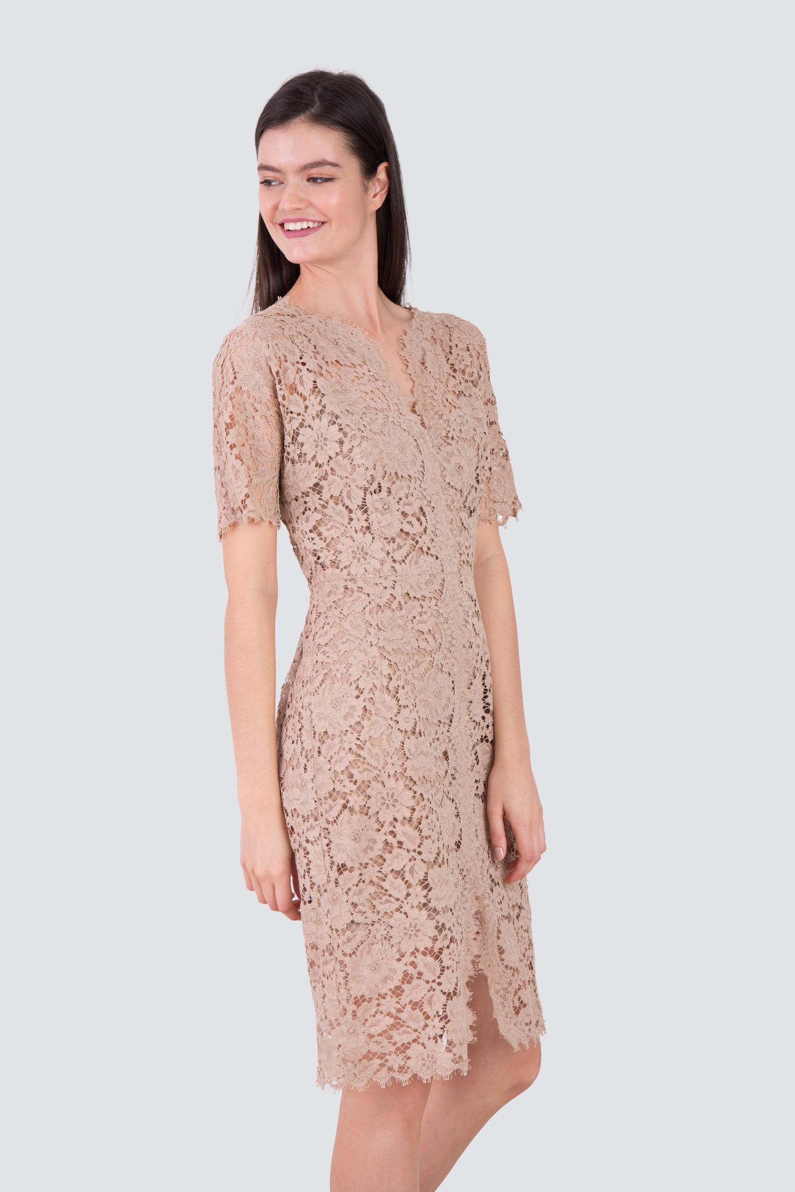 designer lace dresses