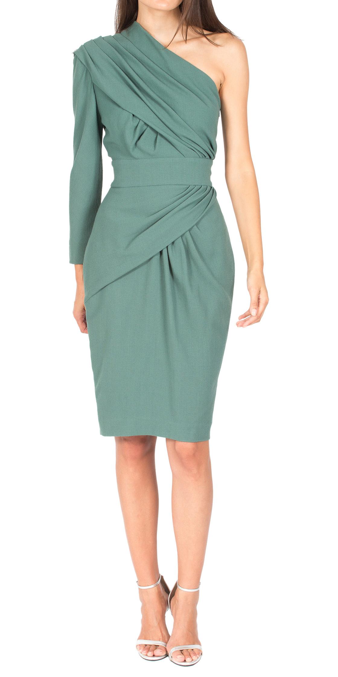 Rent ELIE SAAB Asymmetric Draped Dress in Dubai - Designer 24