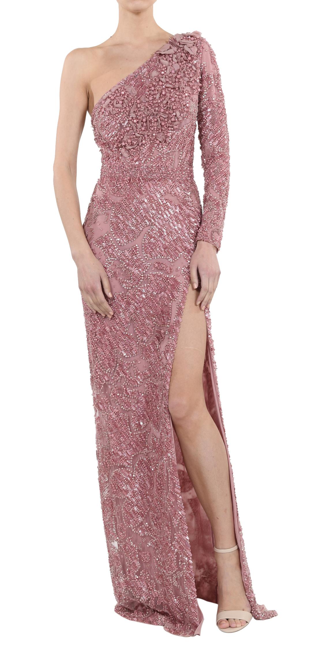 Rent ELIE SAAB Embellished Asymmetric Gown in Lebanon - Designer 24