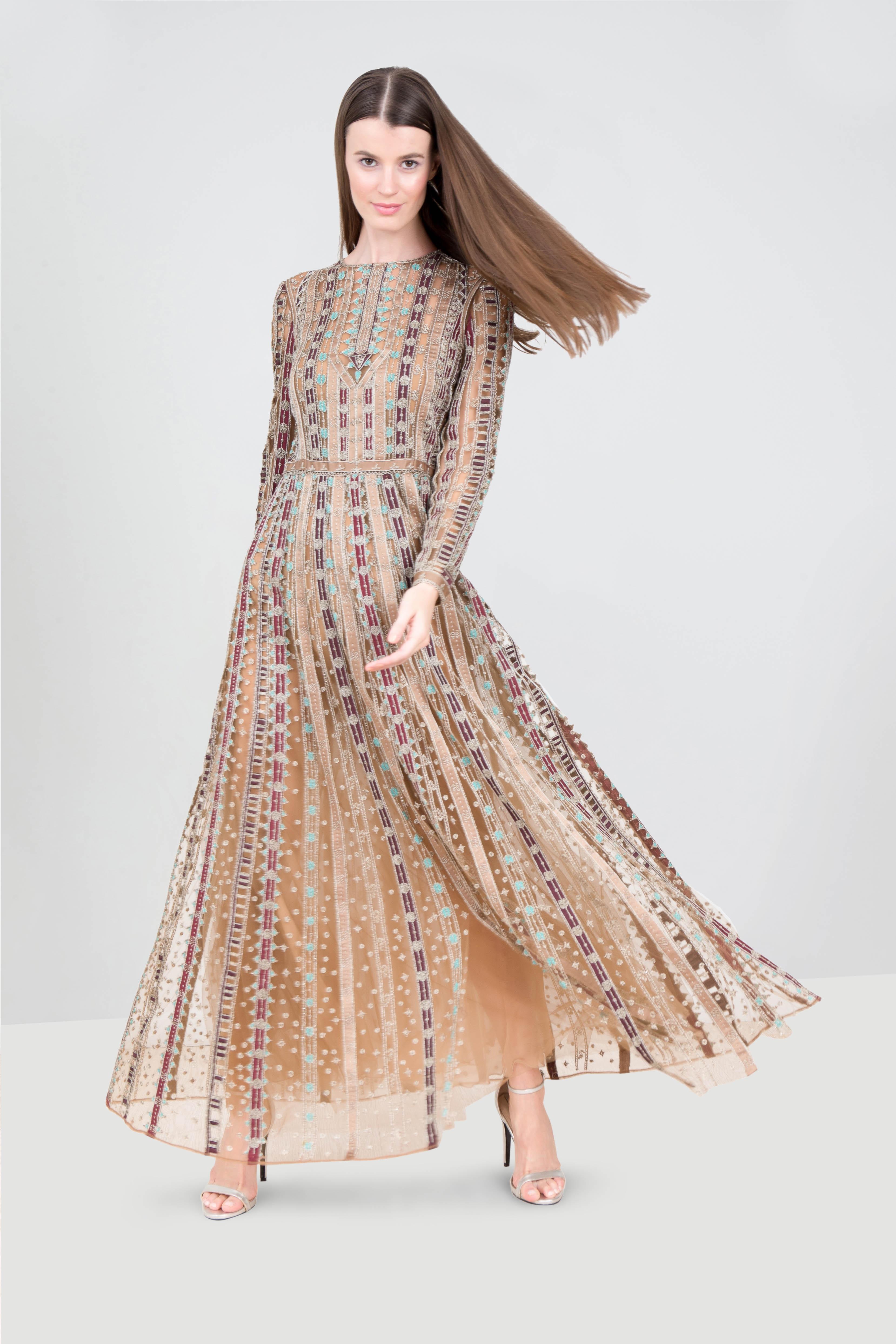 07e7d217ff2c Rent VALENTINO Long Sleeve Cutout Lace Dress in Dubai - Designer 24