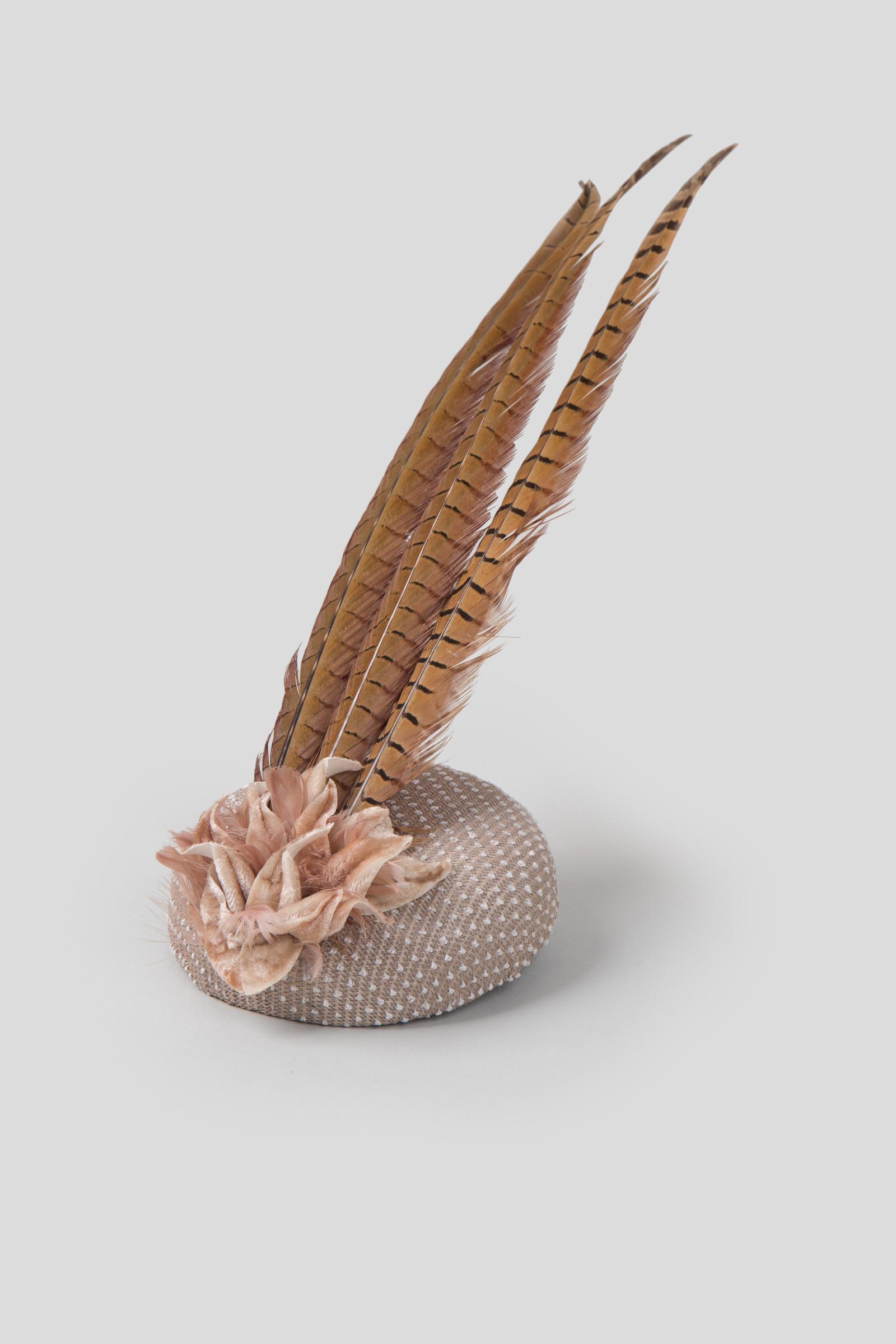 29039b9100d Rent LIZA GEORGIA MILLINERY Large Feather Hat in Dubai - Designer 24