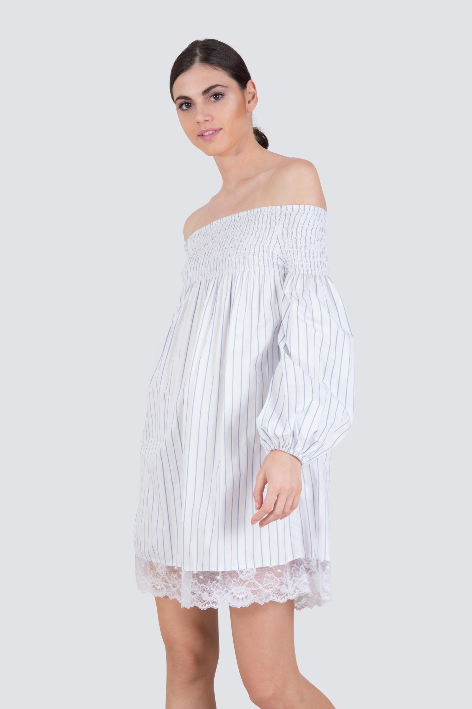 2e5645a9e0 Rent MLM LABEL Off The Shoulder Shirt Dress in Dubai - Designer 24