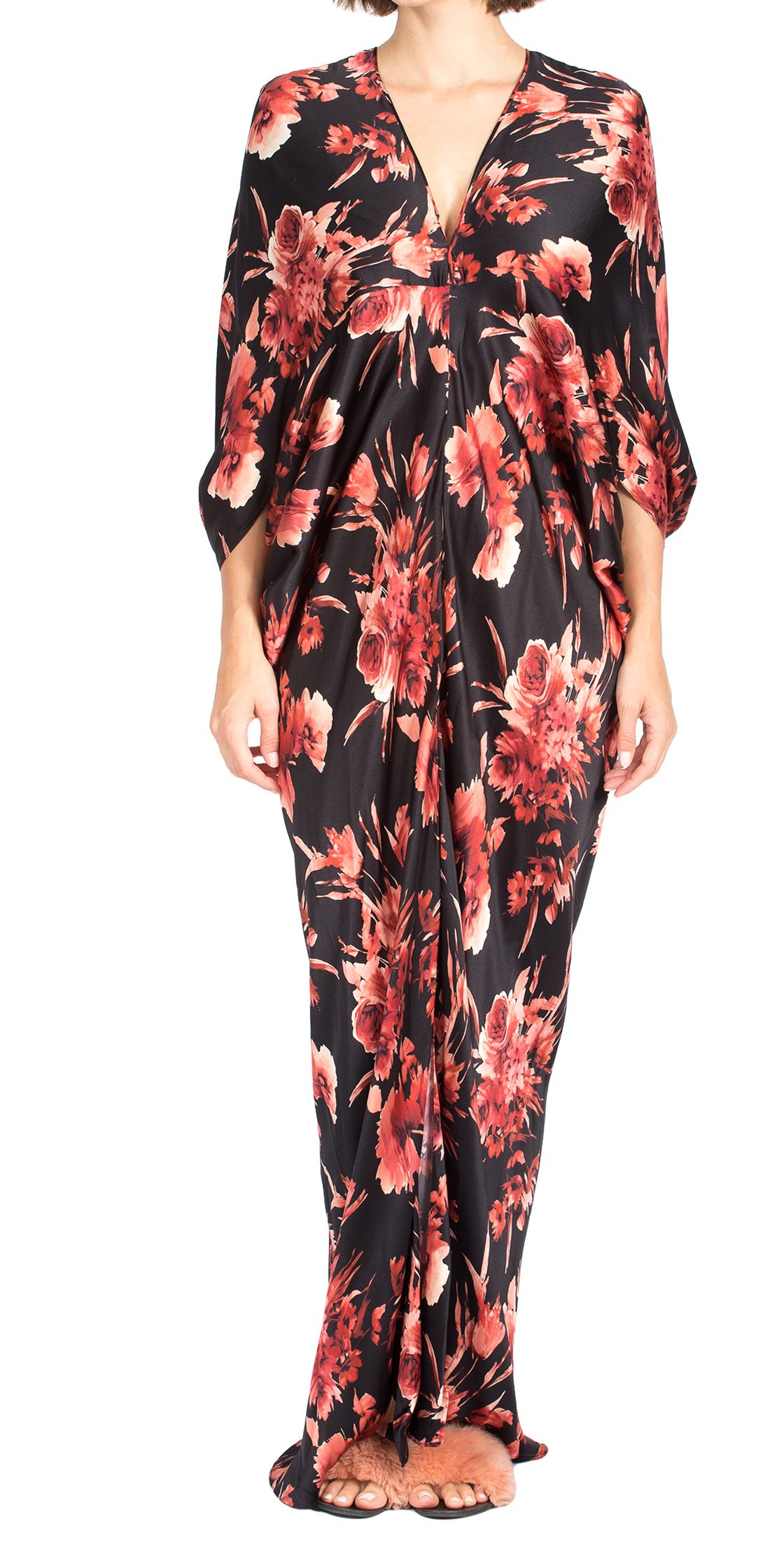 Rent Naeem Khan Silk Floral Dress In Dubai Designer 24