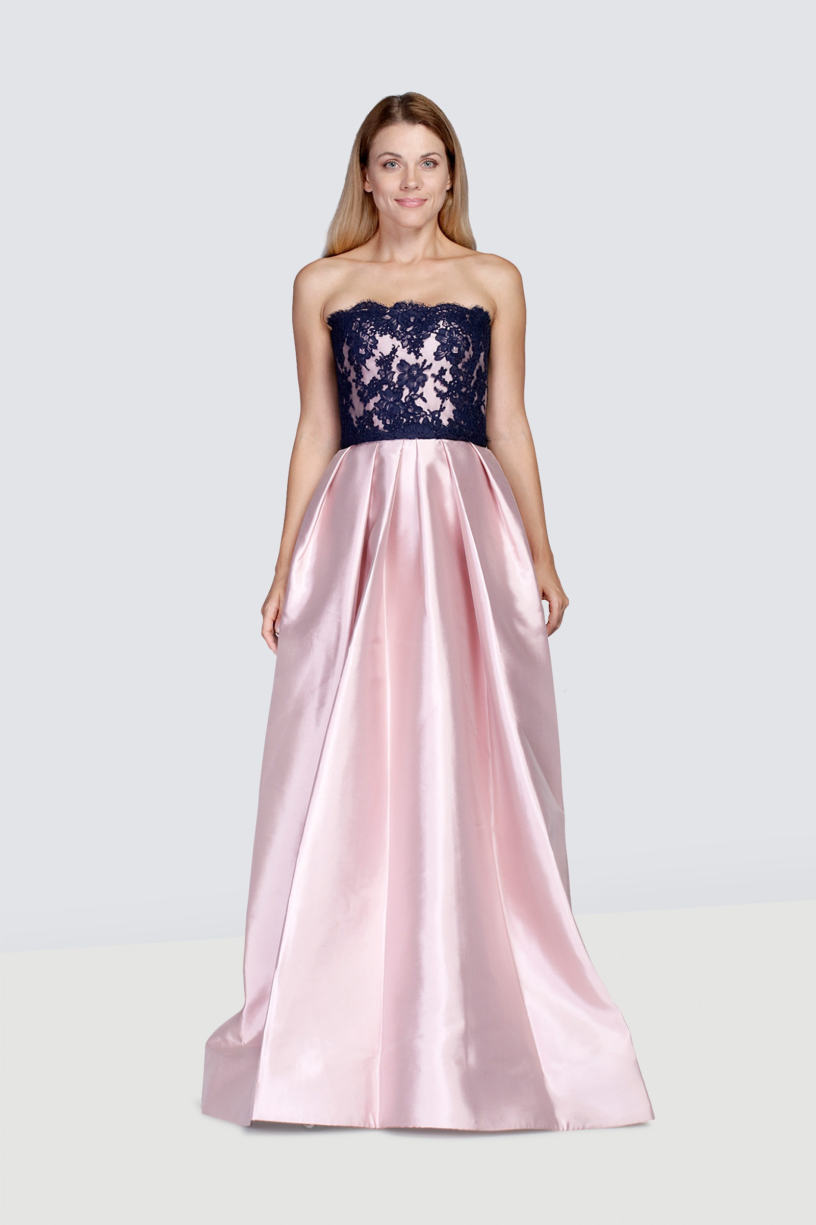 Rent Reem Acra Silkblend Lace Gown In Dubai Designer 24