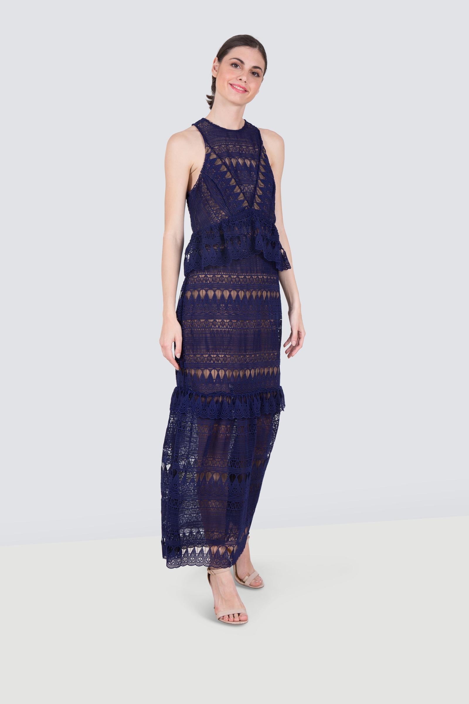 4fa9813de06d Rent SELF-PORTRAIT Sleeveless Lace Dress in Dubai - Designer 24
