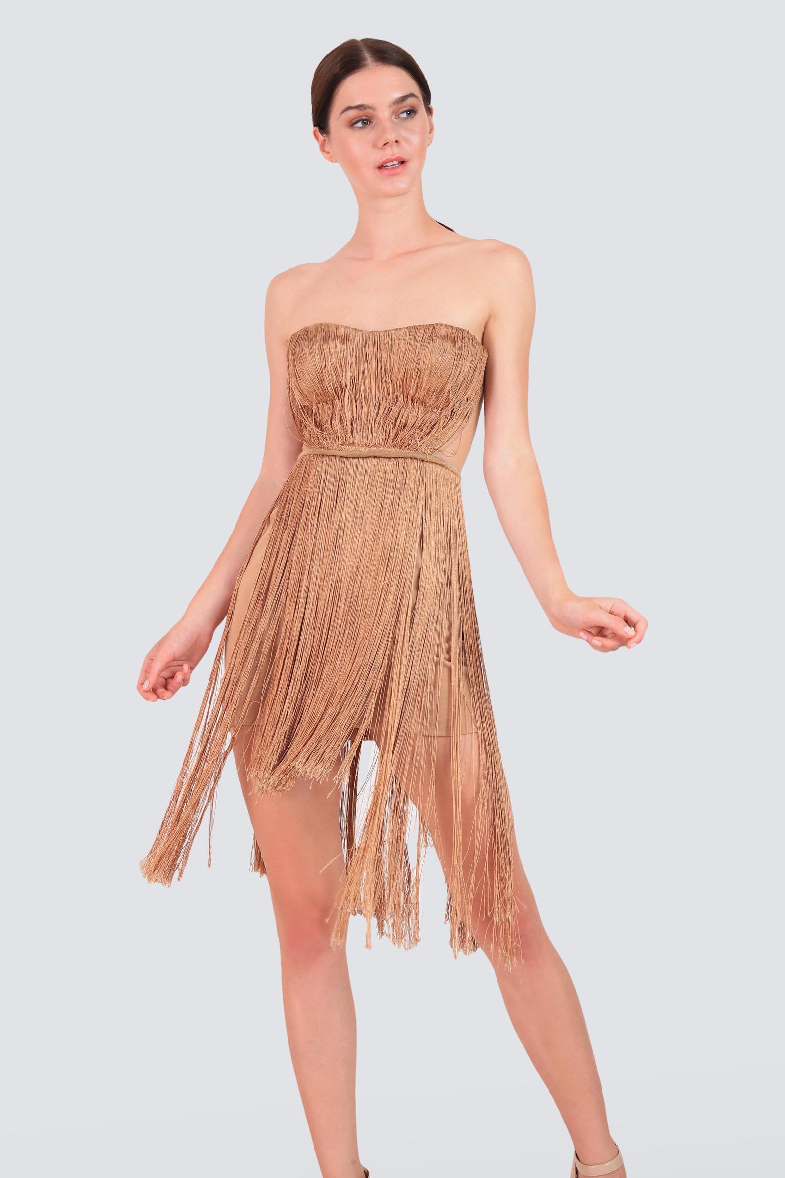 0b5b0c9b4864 Rent MARIA LUCIA HOHAN Tassel Dress in Dubai - Designer 24